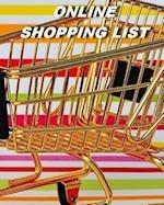 Online Shopping List