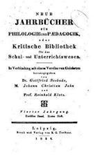 Neue Jahrbucher Fur Philologie Und Paedogogik af Gottfried Seebode