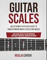 Guitar Scales af Nicolas Carter