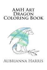 Amh Art Dragon Coloring Book af Aubrianna Marie Harris