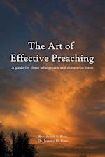 The Art of Effective Preaching