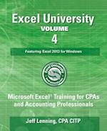 Excel University - Volume 4 - Featuring Excel 2013 for Windows
