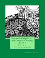 Shannon's Original Art for Creative Coloring Book 5