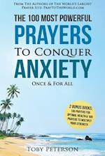 Prayer the 100 Most Powerful Prayers to Conquer Anxiety Once & for All af Toby Peterson