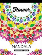 Flower Mandala Coloring Book