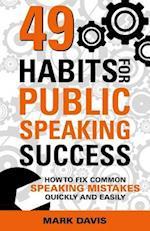 49 Habits for Public Speaking Success