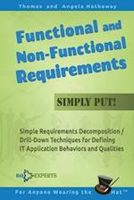 Functional and Non-Functional Requirements Simply Put!