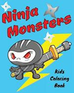 Ninja Monsters Kids Coloring Book af Jack Lee