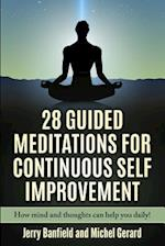 28 Guided Meditations for Continuous Self Improvement af Jerry Banfield