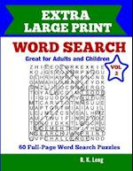 Extra Large Print Word Search, Volume 2 af R. K. Long