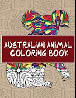 Australian Animal Coloring Book af 14 Peaks