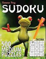 Famous Frog Sudoku 500 Medium Puzzles af Dan Croker