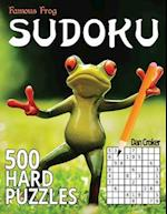 Famous Frog Sudoku 500 Hard Puzzles