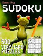 Famous Frog Sudoku 500 Very Hard Puzzles