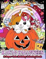 Kawaii Halloween af Mindful Coloring Books