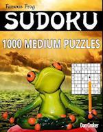 Famous Frog Sudoku 1,000 Medium Puzzles
