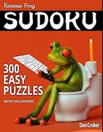Famous Frog Sudoku 300 Easy Puzzles with Solutions
