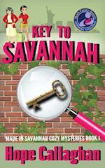 Key to Savannah af Hope Callaghan