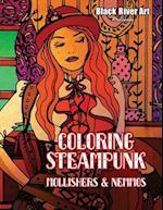 Coloring Steampunk Mollishers & Nemmos af Karlon Douglas