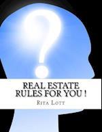 Real Estate Rules for You ! af Rita Lott