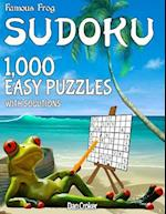 Famous Frog Sudoku 1,000 Easy Puzzles with Solutions