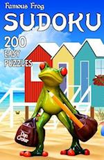 Famous Frog Sudoku 200 Easy Puzzles with Solutions