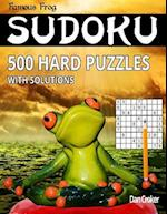 Famous Frog Sudoku 500 Hard Puzzles with Solutions
