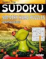 Famous Frog Sudoku 500 Very Hard Puzzles with Solutions