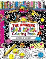 The Amazing Emoji School Coloring Book
