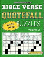Bible Verse Quotefall Puzzles Vol.2 af Gary W. Watson