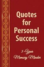 Quotes for Personal Success af Michael J. Harris Phd, Catherine M. Edwards