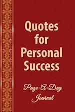 Daily Quotes for Personal Success af Michael J. Harris Phd, Catherine M. Edwards