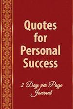 Daily Quotes for Personal Success af Catherine M. Edwards, Michael J. Harris Phd