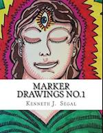 Marker Drawings No.1 af Kenneth J. Segal