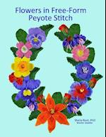 Flowers in Free-Form Peyote Stitch