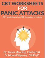 CBT Worksheets for Panic Attacks af Dr James Manning, Dr Nicola Ridgeway