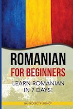 Romanian af Project Fluency