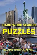 Hard Word Search Puzzles