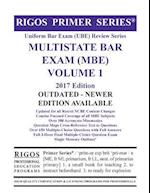 Rigos Primer Series Uniform Bar Exam (Ube) Review Multistate Bar Exam (MBE) Volume 1 af MR James J. Rigos