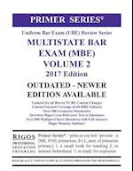 Rigos Primer Series Uniform Bar Exam (Ube) Multistate Bar Exam (MBE) Volume 2 af MR James J. Rigos