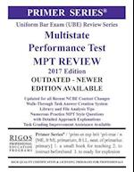 Rigos Primer Series Uniform Bar Exam (Ube) Multistate Performance Test (Mpt) Review af MR James J. Rigos