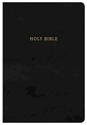 NKJV Super Giant Print Reference Bible, Classic Black Leathertouch, Indexed