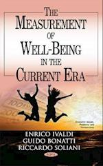 The Measurement of Well-Being in the Current Debate (Economic Issues, Problems and Perspectives)
