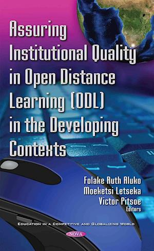Bog, hardback Assuring Institutional Quality in Open Distance Learning (ODL) in the Developing Contexts af Folake Ruth Aluko