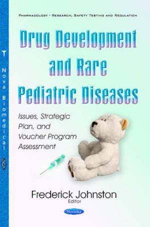 Bog, paperback Drug Development & Rare Pediatric Diseases af Frederick Johnston