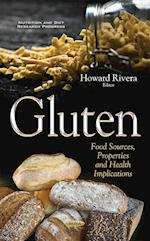 Gluten (Nutrition and Diet Research Progress)