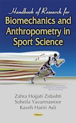 Handbook of Research for Biomechanics and Anthropometry in Sport Science (Sports and Athletics Preparation, Performance, and Psychology)