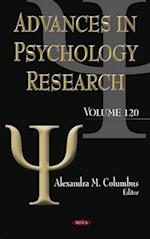 Advances in Psychology Research (Advances in Psychology Research)