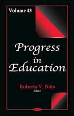 Progress in Education (Progress in Education, nr. 43)
