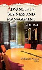Advances in Business & Management af William D. Nelson